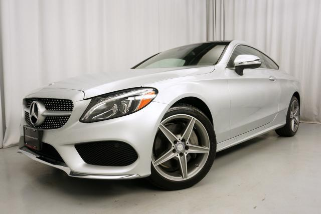 Used 2017 Mercedes Benz C300 4matic Coupe