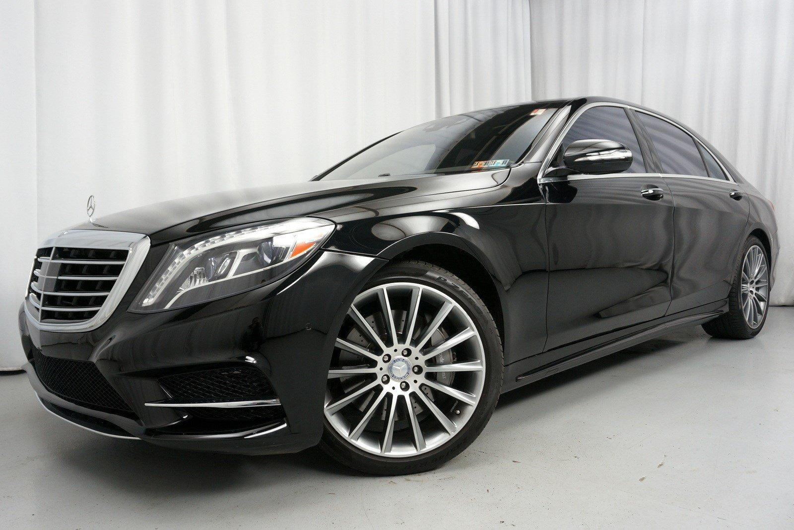 Used 2017 Mercedes Benz S550 4matic Amg Sport