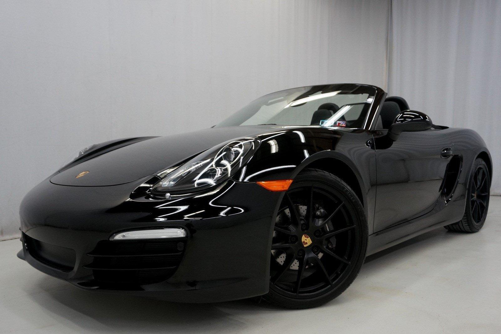 2016 Porsche Boxster Black Edition Stock S120664 For Sale Near King Of Prussia Pa Pa Porsche Dealer