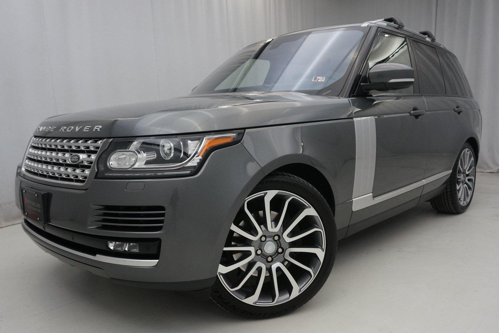 Used 2016 Land Rover Range Rover Diesel HSE | King of Prussia, PA