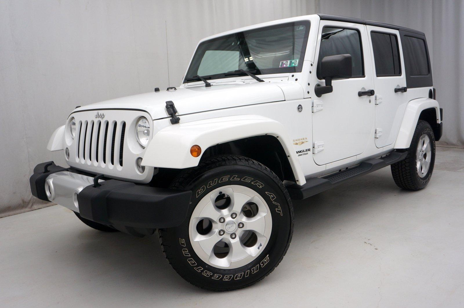 Used 2015 Jeep Wrangler Unlimited Sahara | King of Prussia, PA