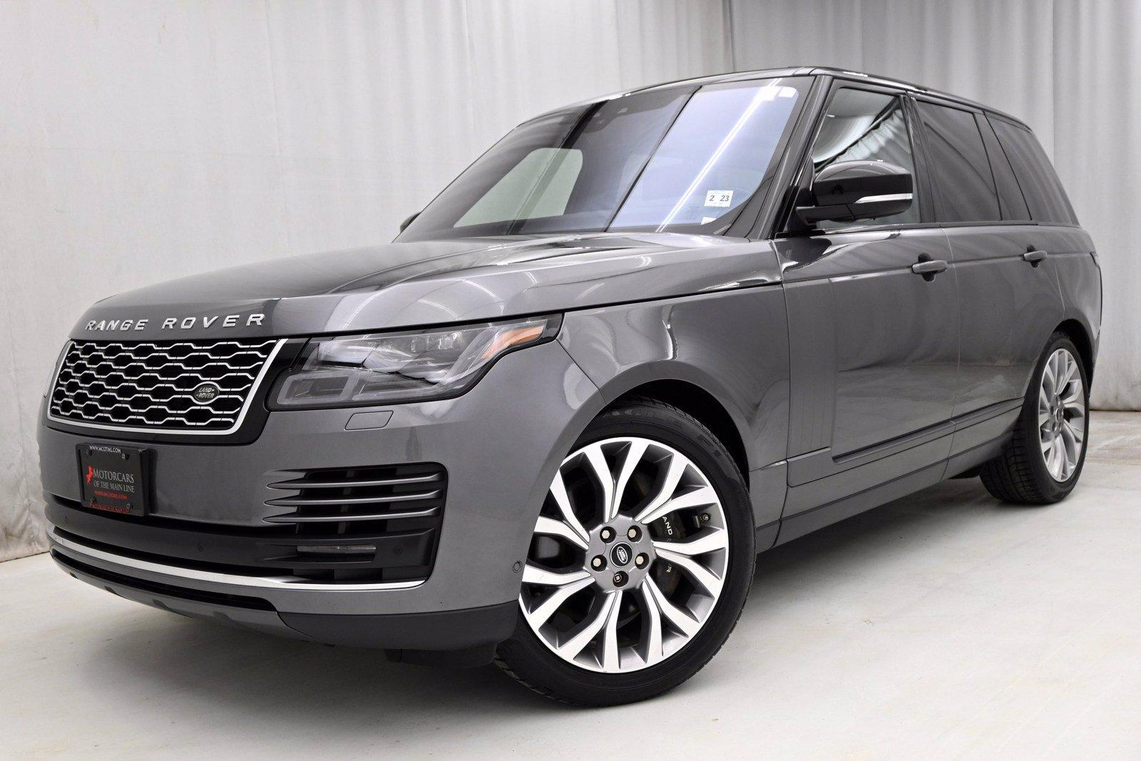 Used 2018 Land Rover Range Rover HSE | King of Prussia, PA