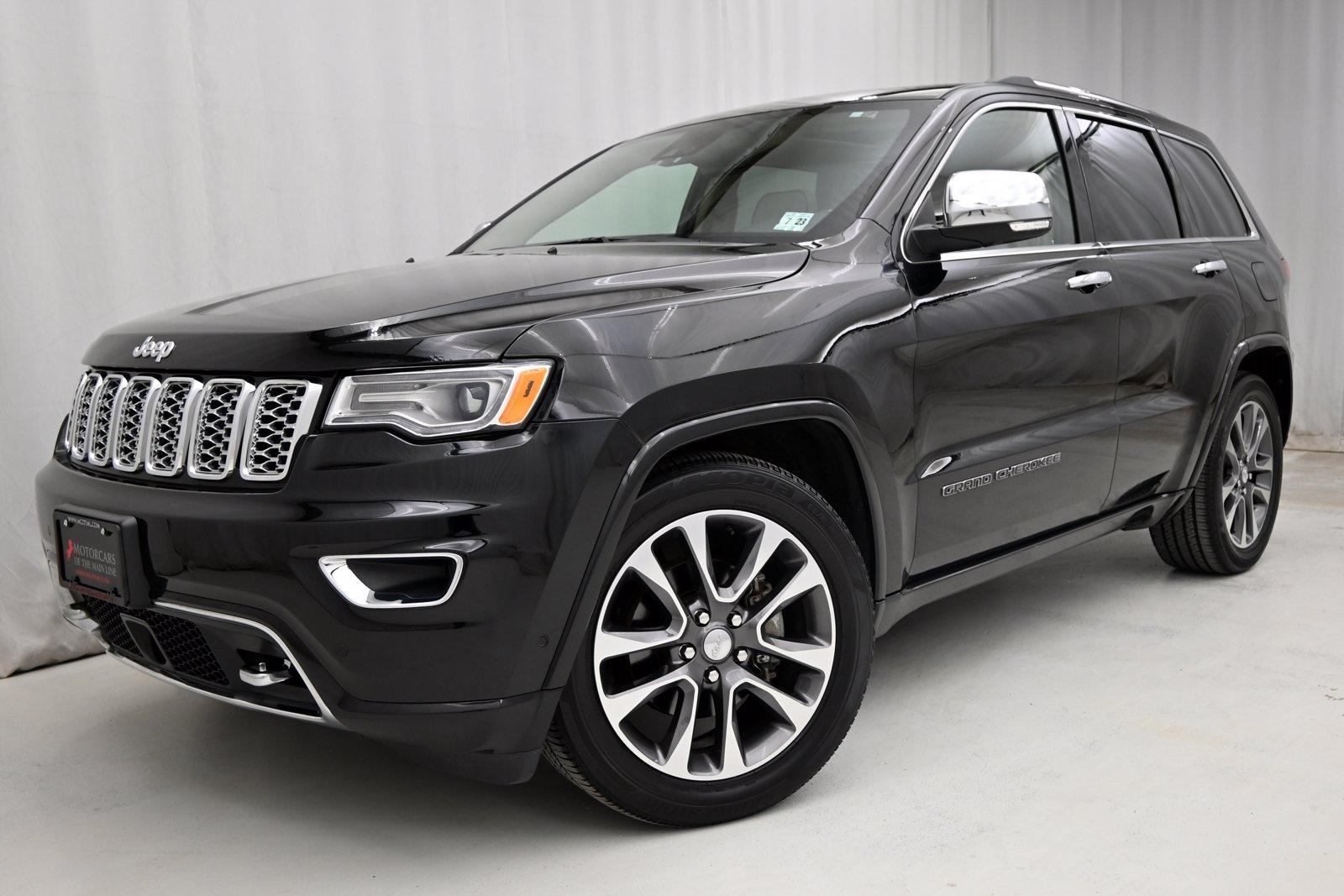 Used 2018 Jeep Grand Cherokee Overland | King of Prussia, PA